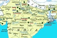 Carte Geographique De Linde Du Nord.Carte Inde Du Nord Et Rajasthan Plan Delhi Et Agra
