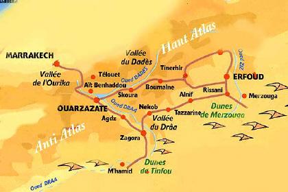 Infos sur : maroc sud carte   Arts et Voyages